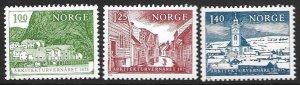 Norway 660-62  1975  set 3  VF NH