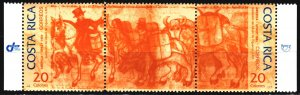 Costa Rica. 1994. 1441-42. Illustrations to the books of Figueroa, horses. MNH.