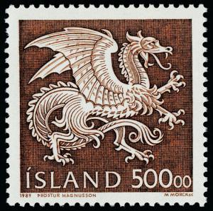 Iceland 677 MNH Dragon