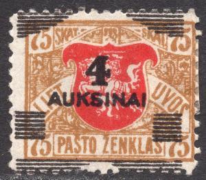 LITHUANIA SCOTT 115