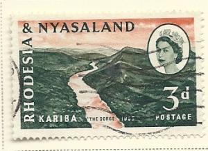 Rhodesia & Nyasaland # 172 (U) CV $0.25