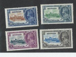 Seychelles  mh S.C.#  118-121