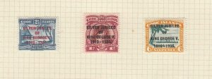 COOK ISLANDS (MK7098) # 98-100 VF-MH 1935 KING GEORGE V SILVER JUBILEE