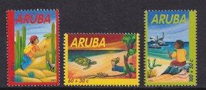 Aruba   #B67-B69  MNH   2002  child welfare
