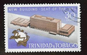 Trinidad & Tobago Scott 186 used CTO UPU stamp