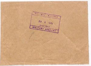 LL49 1971 Mowbray Cover Department of Defence Stamp {samwells-covers}
