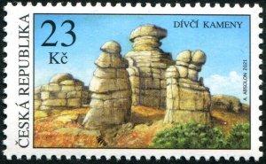 2021 Czech Republic Rock Formation (Scott NA) MNH