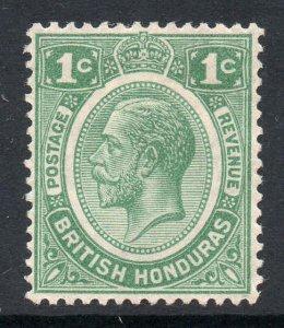 British Honduras 1922 KGV 1c wmk MSCA SG 126 mint