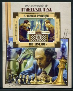 SAO TOME 2021 85th ANNIVERSARY  OF MIKHAIL TAL  SOUVENIR SHEET MINT NEVER HINGED