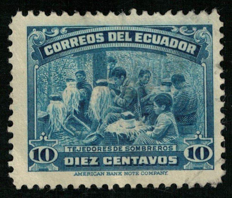 1937, Ecuador, YT #355 (RT-452)