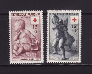 France B300-B301 Set MH Red Cross (B)