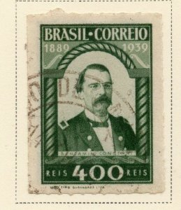Brazil 1939 Early Issue Fine Used 400r. NW-12113