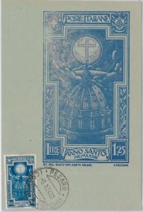 57348 -  ITALY - POSTAL HISTORY: MAXIMUM CARD 1934 - ART Architecture