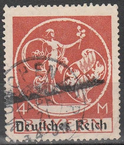 Bavaria #272  F-VF Used  CV $10.00  (A11291)