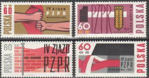 Poland #1240-3 MNH F-VF (SU3294)