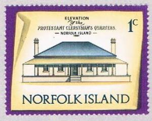 Norfolk Island 156 MLH Clargymans house 1973 (BP3131)