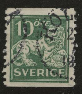 SWEDEN Scott 116 Used wo wmk