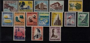 South West Africa 266-80 MNH SCV62.30