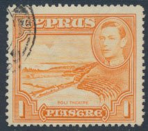 Cyprus  SG 154  SC# 146 Used   Soli Theatre  see detail and scan