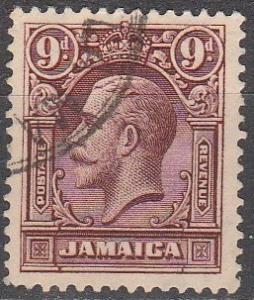 Jamaica #105  F-VF Used