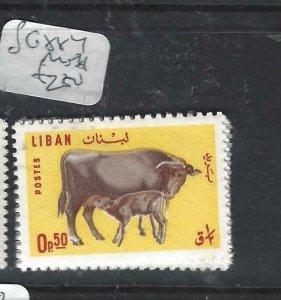 LEBANON (P0208B) COW  SG 884   MNH