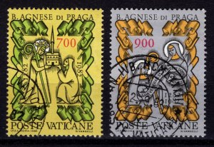 Vatican City 1982 700th Death Anniversary of Blessed Agnes of Prague, Set [Used]