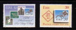 Ireland Sc 803-4 1990 Penny Black stamp set mint NH