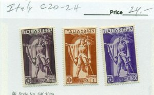 ITALY #C20-2, Mint Hinged, Scott $24.00