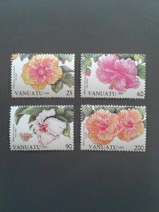 Vanuatu 645-648 VF MNH. Scott $ 7.40