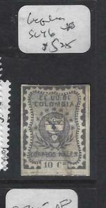 COLOMBIA   (PP0204B)    SC 46   VFU