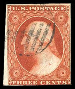 U.S. 1851-57 ISSUE 10A  Used (ID # 84184)