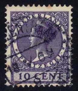 Netherlands #178 Queen Wilhelmina, used (0.25)