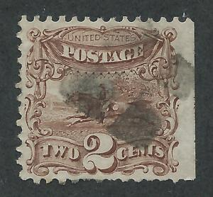 113 Used,  2c. Pictorial,  XF, scv: $75