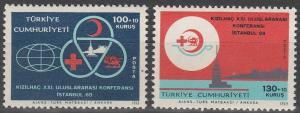 Turkey #B130-31  MNH F-VF (V773L)