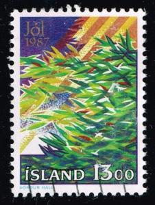 Iceland #652 Christmas; used (0.25)