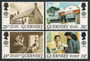 Guernsey 422-425,MNH.Michel 483-486. EUROPE CEPT-1990.Post Offices.
