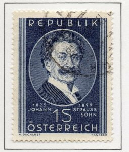 Austria 1949 Early Issue Fine Used 1S. NW-89697