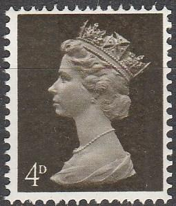 Great Britain #MH6  MNH