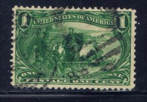 U.S. 285 Used 1896 Marquette on the Mississippi