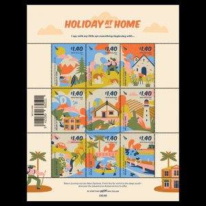 2021 NEW ZEALAND  SG:  N/A - HOLIDAY AT HOME  - UNMOUNTED MINT  - SET