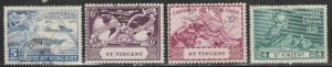 St. Vincent #170-173 Used Full Set of 4