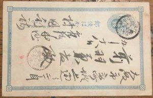 Group of Four Vintage Japanese Postal Cards