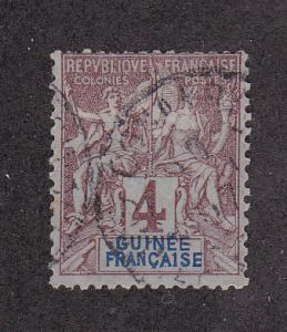 French Guinea Scott #3 Used