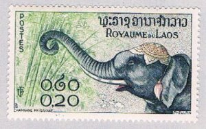 Laos 42 MNH Elephant 1958 (BP45412)