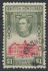 British Honduras  SG 159 SC # 124  Used / FU   please see scans