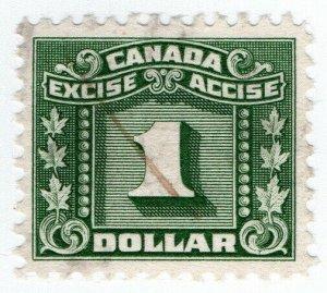 (I.B) Canada Revenue : Excise Tax $1
