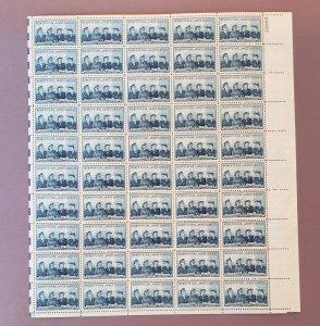 1013, Service Women, Mint Sheet, CV $13.50