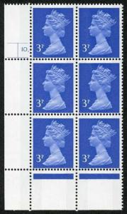 SHFG3B 3p Ultramarine Blue 2B Cyl 10 Dot p1 FCP/GA Perf R(S) U/M