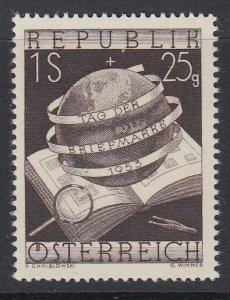 AUSTRIA, Scott B286, MNH