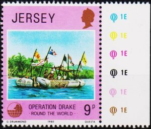Jersey. 1980 9p S.G.239 Unmounted Mint